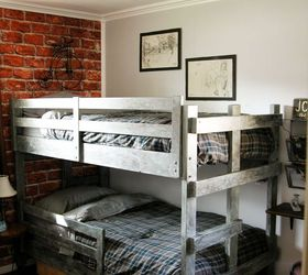 Vintage Industrial Teen Bedroom Makeover, Bedroom Ideas, Home Decor,  Painting, Wall Decor