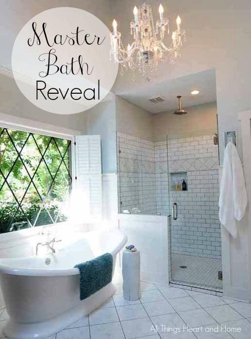 Master Bath Makeover Bathroom Ideas Diy Home Decor Wall