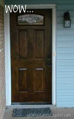 How-To-Paint-Exterior-Door-Trim. I Want The Inside Part Of The Door To Look As In Pic 2 Im Hoping Someone Can Throw Some Ideas My Way On The Room And Door Trim Color Part Thanks