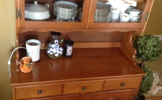 q how would you refinish this piece it has a matching round table thx, furniture refurbishing, painted furniture