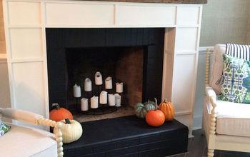 custom built fireplace, fireplaces mantels, home decor, home improvement, living room ideas