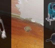 3 ways to fix the hole after moving a baseboard radiator, flooring, hardwood floors, woodworking projects