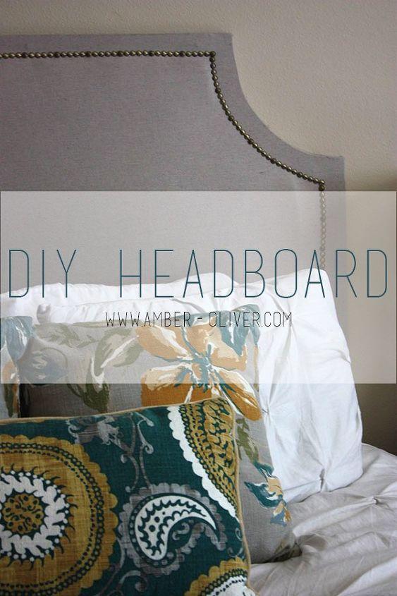 diy headboard, bedroom ideas, diy, painted furniture, woodworking projects