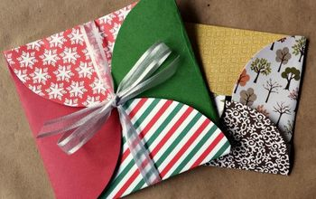 DIY Gift Envelope Using Scrapbook Paper