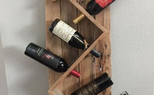 wine rack from scraps, diy, repurposing upcycling, woodworking projects