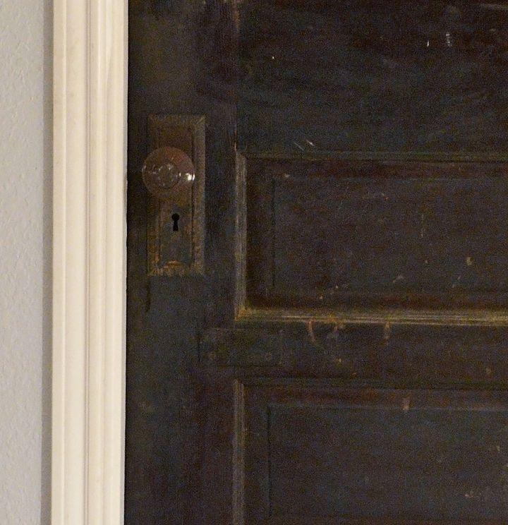 antique pantry door, closet, diy, doors, repurposing upcycling - Antique Pantry Door Hometalk