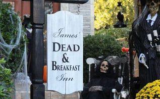 diy halloween sign, crafts, halloween decorations, seasonal holiday decor