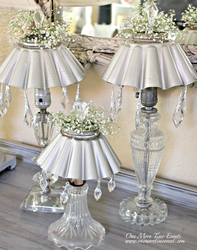 Vintage lamps two different uses outdoor solar lighting for Different home decor