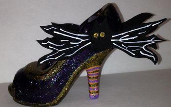 Transform Plain Shoes Into Witchy Shoes