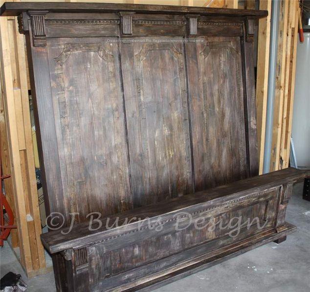 DIY Restoration Hardware Inspired Queen Bed | Hometalk
