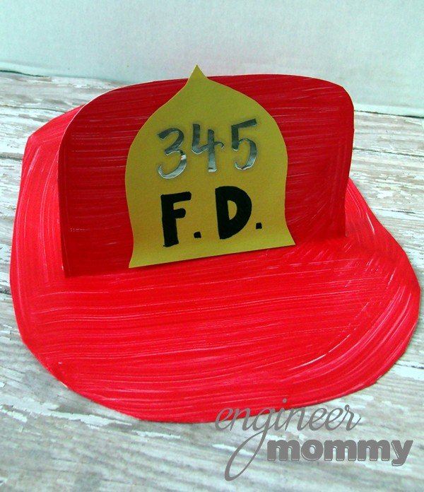 Firefighter Hat Craft For Fire Safety Month Hometalk