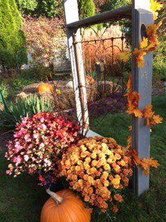 repurposed rustic wedding alter, gardening, outdoor living, repurposing upcycling