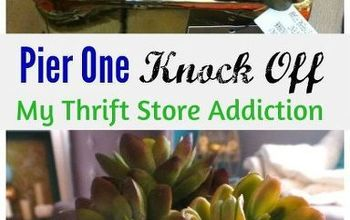 get the look for less pier one knock off, crafts, succulents
