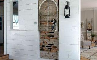 plan b exposing the brick, concrete masonry, diy, home improvement