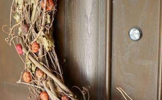 easy fall outdoor decor ideas, crafts, seasonal holiday decor