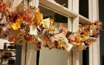 beautiful garland, seasonal holiday decor