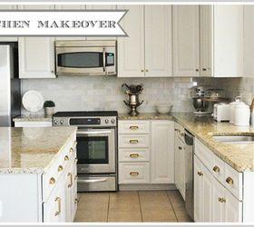 Kitchen Redo Updating A Dark Builder Kitchen To Light And Bright, Diy, Home  Improvement