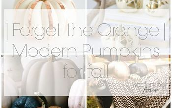 |Forget the Orange| Modern Pumpkins for Fall