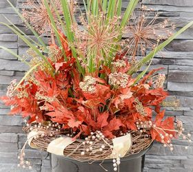 8 Tips For Making A Gorgeous Fall Outdoor Floral Arrangement, Crafts,  Seasonal Holiday Decor