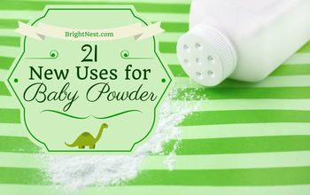 21 uses for baby powder, repurposing upcycling