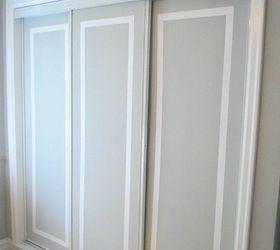 painted sliding closet doors faux trim effect closet painting & How to Paint Faux Trim on Closet Doors   Hometalk