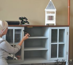 Big Box Store Furniture Makeover Matching Media Cabinets With Paint, Chalk  Paint, Painted Furniture
