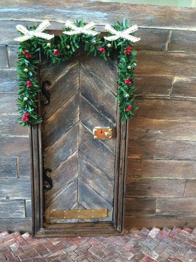 holiday elf door christmas decorations crafts seasonal holiday decor accessorize the door