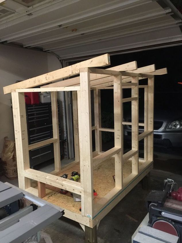 Chicken coop hometalk for Diy movable chicken coop