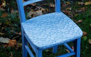 Spray It Pretty Lace Chair #octfabflippincontest