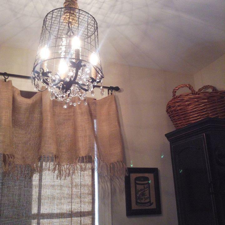 Diy basket chandelier hometalk diy basket chandelier crafts lighting repurposing upcycling aloadofball Images