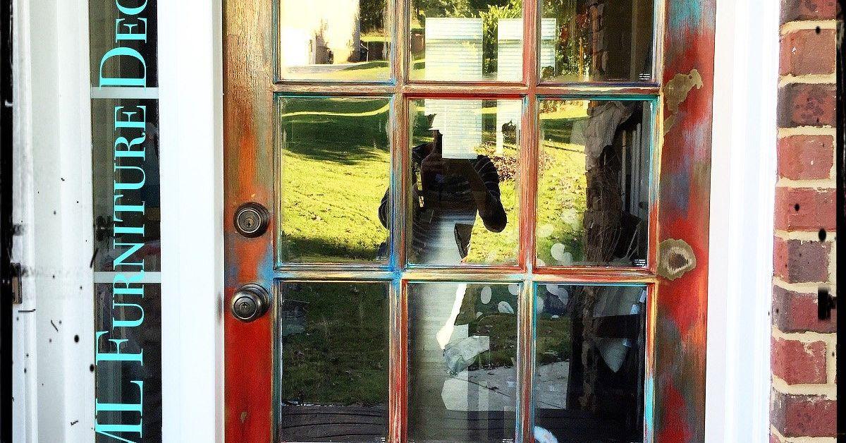 Not Your Regular Front Door Now Revamped Hometalk