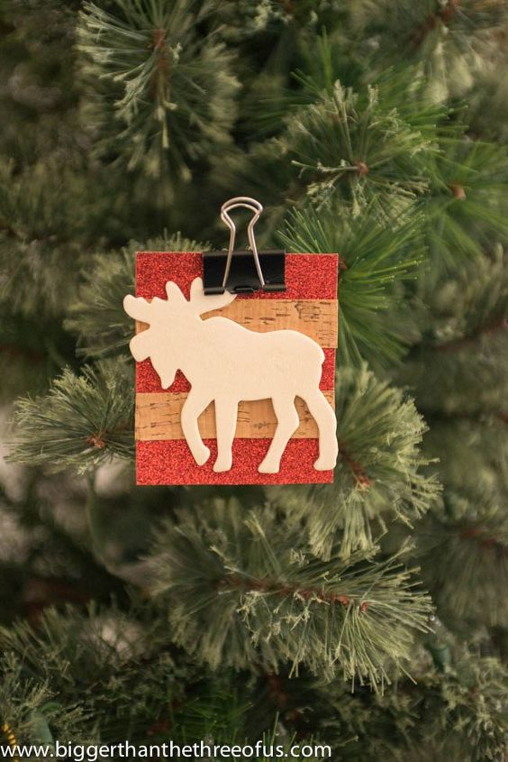 Diy Moose Ornament Or Gift Tag Christmas Decorations Crafts Home Decor Seasonal