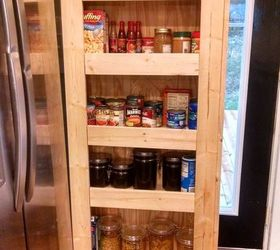 Medium image of how to build your own rolling pantry closet diy kitchen design woodworking