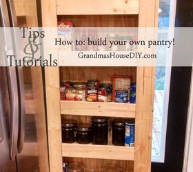 How To Build Your Own Rolling Pantry, Closet, Diy, Kitchen Design,  Woodworking
