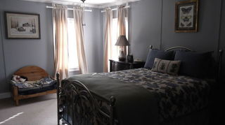 , Not sure if you can see to the left of the bed the larger strips
