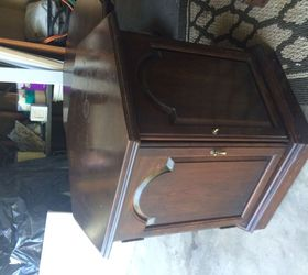 Captivating Ethan Allen End Table Of Same Design As Dining Room Table And Chairs