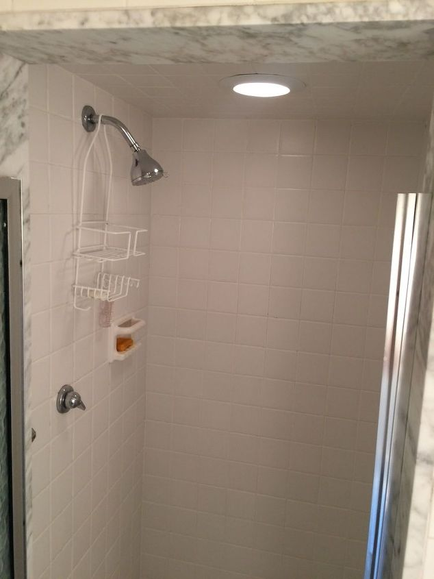 Diy Or Pro Reno A 1960 S Clunky Shower Stall To A Glass