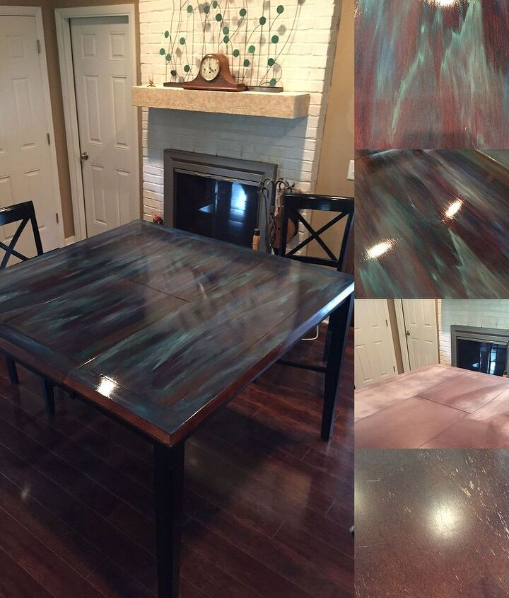 Dining Room Table Re-Do!