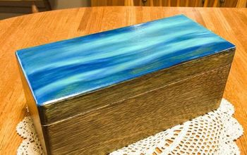 Thrift Store Recipe Box Made New! #SPiTchallenge #firstSpitProject