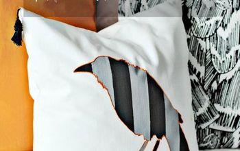DIY Halloween Throw Pillow