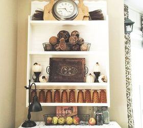 diy vintage inspired plate rack 30dayflip diy how to kitchen design painted : antique plate rack - pezcame.com