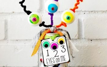 1-2-3 Eyes On Me Halloween Mason Jar Teacher Gift and Printable