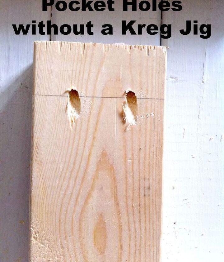 Make Pocket Holes WITHOUT a Kreg Jig