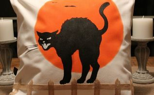 diy black cat pillow create and share, crafts