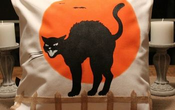 DIY Black Cat Pillow - Create And Share