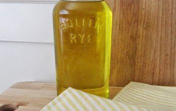 Whiskey Oil Bottle