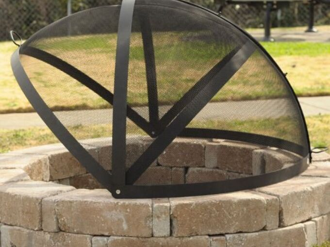 Any Way To Keep A Fire Pit Screen From Rusting Hometalk