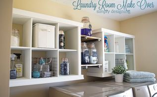 laundry room shelving makeover, laundry rooms, organizing, shelving ideas