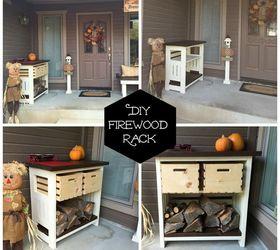 Genial Diy Firewood And Kindling Storage, Diy, Outdoor Furniture, Rustic  Furniture, Seasonal Holiday