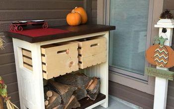 DIY Firewood and Kindling Storage